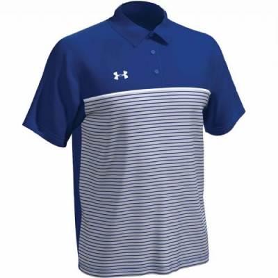 UA Stripe Mix-Up Polo Main Image