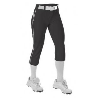 Alleson Girl's Piped Fastpitch Pant Main Image