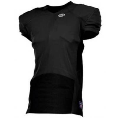 Rawlings® Hammer Destroyer Pro-Cut Men's Short-Sleeve V-Neck Football Jersey Main Image