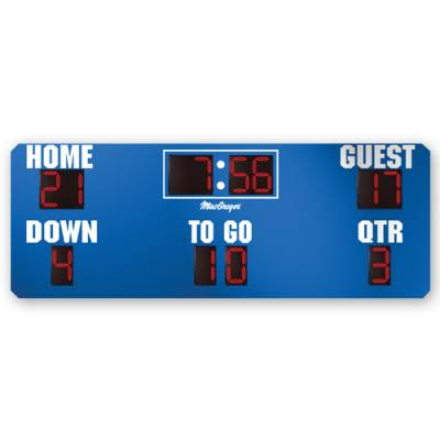 16' X 6' Football Scoreboard Main Image