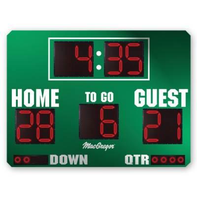 8' X 5' Football Scoreboard Main Image