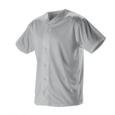Alleson Faux Front Baseball Jersey Main Image