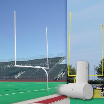 Official High School Gooseneck Goalposts Main Image