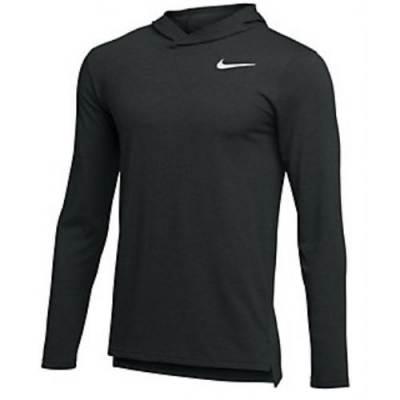 Nike Hyper Dry Long Sleeve Hooded Breathe Top Main Image