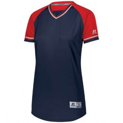 Russell Athletic Ladies' Classic V-Neck Jersey Main Image