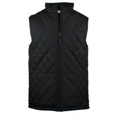Badger Youth Quilted Vest Main Image