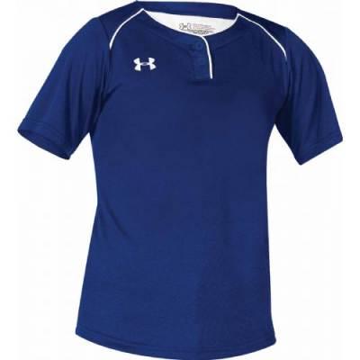UA Girl's Next 2-Button Softball Jersey Main Image