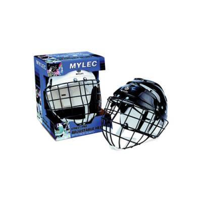 Helmet With Wire Face Cage Main Image