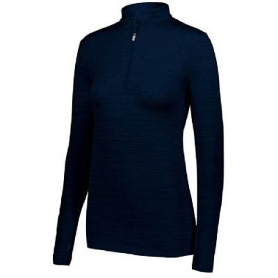 Holloway Ladies' Striated 1/2 Zip Pullover Main Image