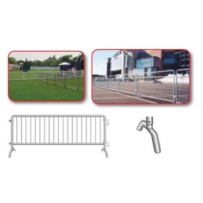Crowd Control Steel Barricades Main Image