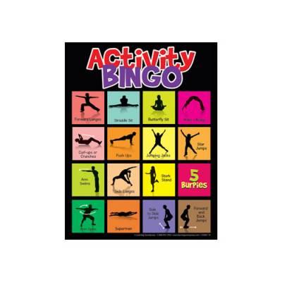 Physical Activity Bingo Main Image