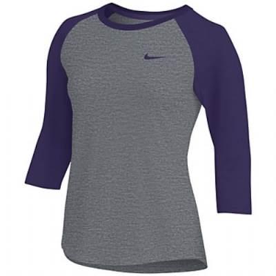 Nike Women's Dry 3/4 Sleeve Raglan Top Main Image