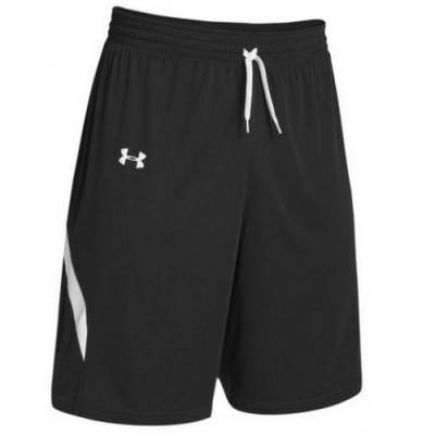 Under Armour® Clutch Stock Men's Reversible Basketball Shorts Main Image