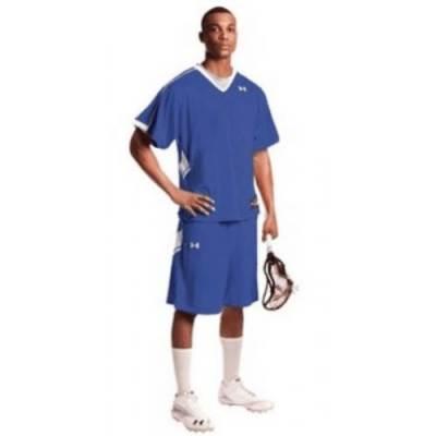 Under Armour® Zagger Stock Men's Short-Sleeve V-Neck Lacrosse Jersey Main Image