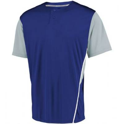 Russell Athletic Performance 2 Button Colorblock Jersey Main Image