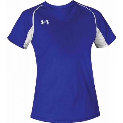 UA Girl's Next V-Neck Softball Jersey Main Image