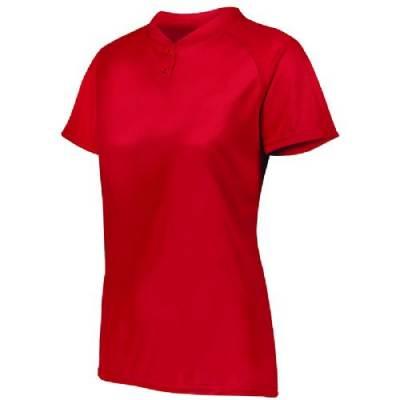 Augusta Ladies' Attain 2-Button Jersey Main Image