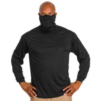 Badger Youth 2B1 Long Sleeve Tee With Mask Main Image