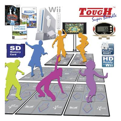 Wii DDR Tough Series Fitness Package Main Image