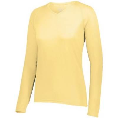 Augusta Ladies' Attain Wicking LS Shirt Main Image