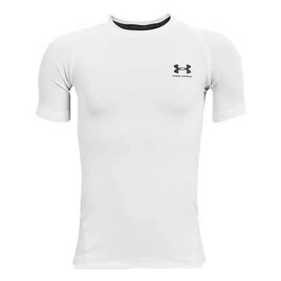 UA Boys Heatgear Armour Short Sleeve Main Image