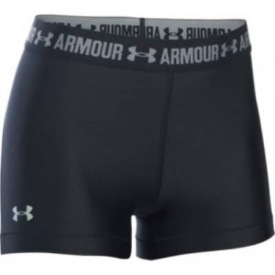 "UA Women's Heatgear Armour 3"" Short Main Image"