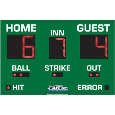 Baseball Scoreboard 5 x 8 Main Image