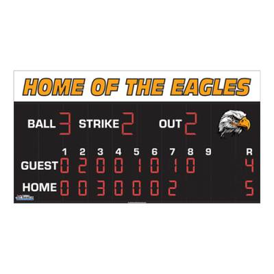 Baseball Scoreboard 8 x 20 Main Image