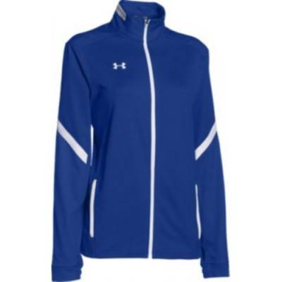 Under Armour® Qualifier Women's Loose Fit Full-Zip Warm-Up Jacket Main Image