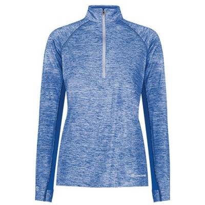 Holloway Lady Electrify Coolcore 1/2 Zip Pullover Main Image
