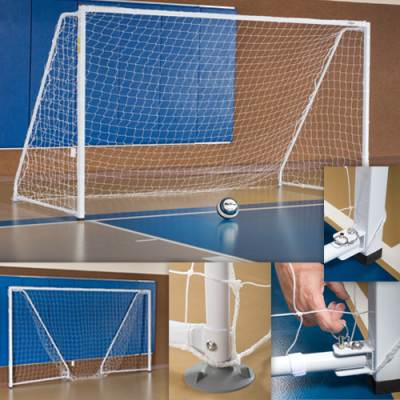 Portable/Foldable Indoor Soccer Goal Main Image