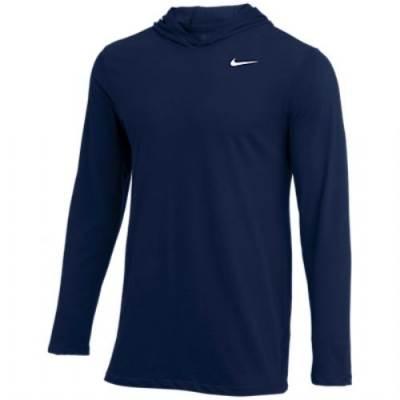 Nike Dry Long Sleeve Hood Tee Main Image