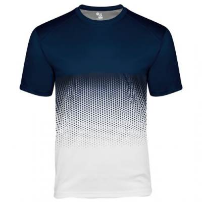 Badger Youth Hex 2.0 Tee Main Image
