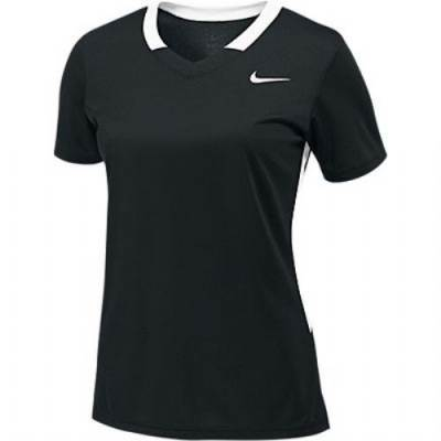 Nike Face-Off Stock Women's Short-Sleeve V-Neck Lacrosse Jersey Main Image