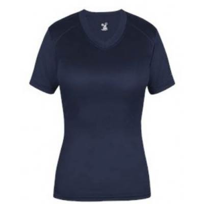 Badger Ladies Ultimate Fitted V-Neck Tee Main Image