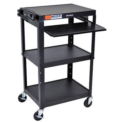 Steel Adjustable AV Cart Main Image