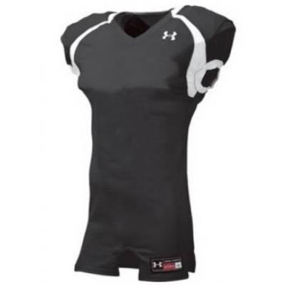 Under Armour® Crusher Stock Men's Short-Sleeve V-Neck Football Jersey Main Image