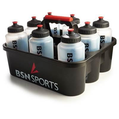 Bottle Carrier with 8 Quart Bottles Main Image