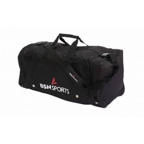 1377675 BSN Sports Players Duffle Bag Black Sport Supply Group Inc