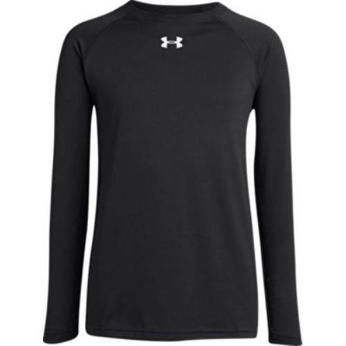 adb6ca69e Under Armour® Locker Boys' Long-Sleeve Crew Neck T-Shirt | BSN SPORTS