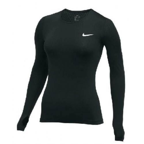 Nike Pro Women s LS All Over Mesh Main Image 448794ac9