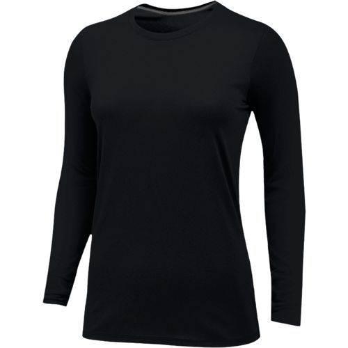 Nike Women s Core Long Sleeve Cotton Crew Main Image 8967be5d1d63