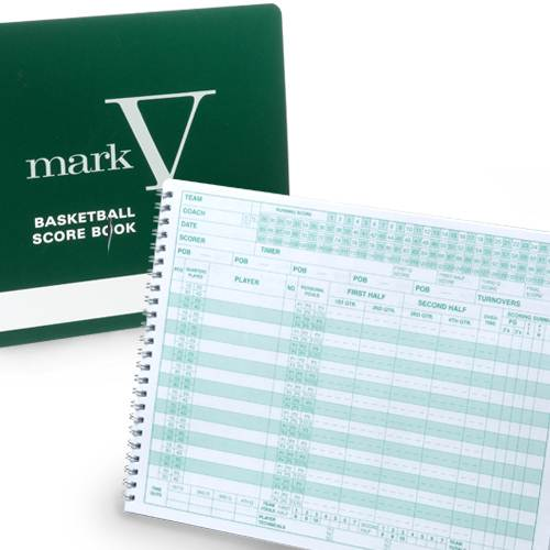 Mark V Basketball Scorebook | BSN SPORTS