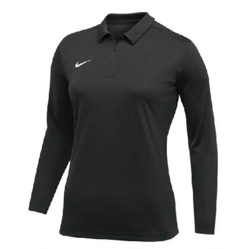 Nike Women s Dry Longsleeve Polo Main Image 91b39c2ec