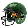 Schutt Youth Recruit Hybrid w/Carbon Steel Mask