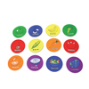 US Games Fruit and Vegetable Spot Markers