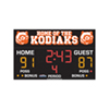 Basketball Scoreboard 3' x 8'