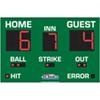 Baseball Scoreboard 5 x 8