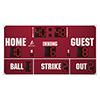 "14' X 7'6"" Baseball Scoreboard"