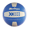MacGregor Rubber Volleyball Royal/White